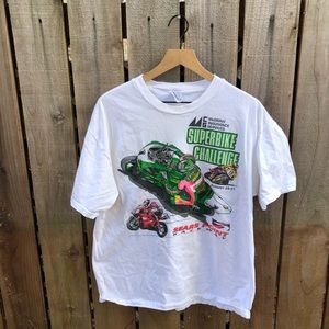 Vintage Superbike Racing Men's Shirt